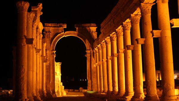 Palmyra, colonnaded axis - Sputnik France