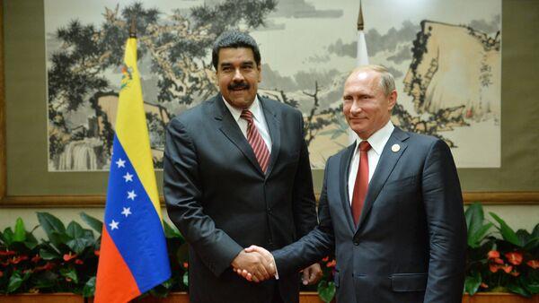Vladimir Poutine et Nicolas Maduro en Chine - Sputnik France