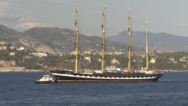Un voilier russe à Monaco - Sputnik France