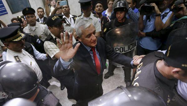 Emprisonnement de l'ex-président du Guatemala Otto Perez Molina - Sputnik France