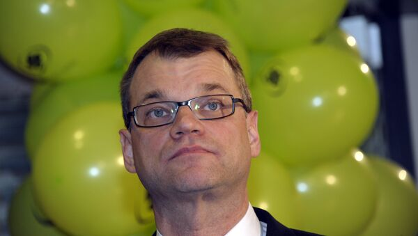 Juha Sipilä, premier ministre finlandais - Sputnik France