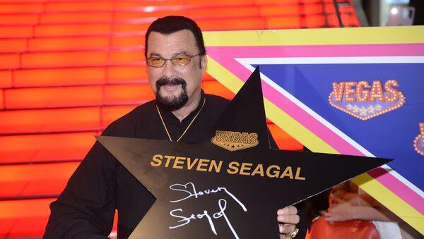 Steven Seagal - Sputnik France