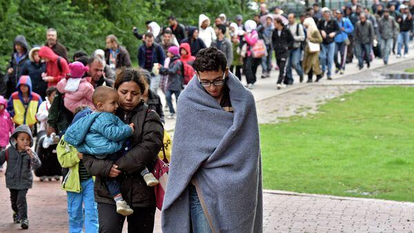 Migrants en Allemagne - Sputnik France