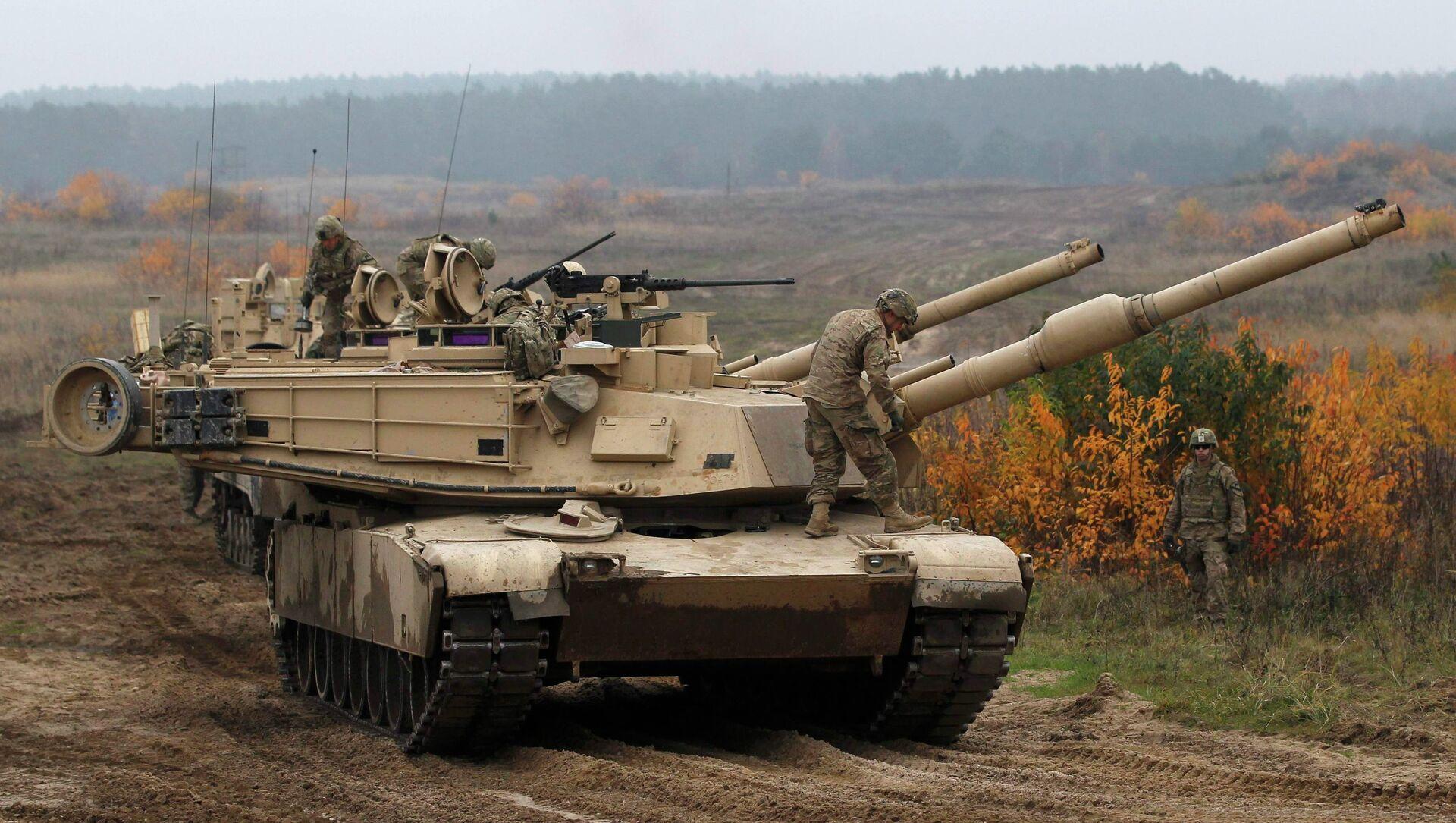 Tanks américains Abrams - Sputnik France, 1920, 16.07.2021
