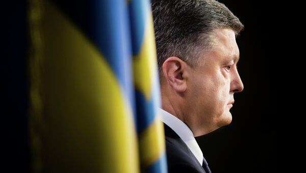 Petró Poroshenko, presidente de Ucrania - Sputnik France