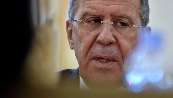 Le chef de la diplomatie russe Sergueï Lavrov. Archive photo - Sputnik France