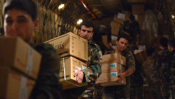 aide humanitaire à la Syrie - Sputnik France