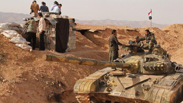 Les militaires de l'armée syrienne - Sputnik France