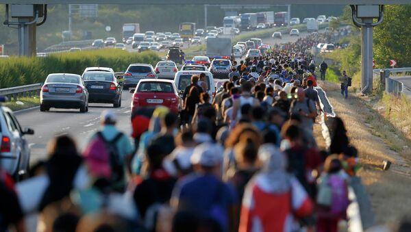 Migrants. Image d'illustration - Sputnik France