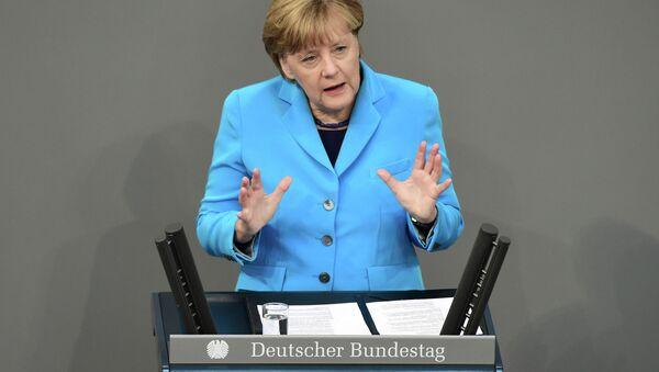 Angela Merkel - Sputnik France