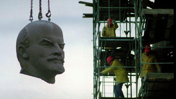 La tête géante de Lénine - Sputnik France