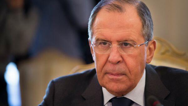 Sergueï Lavrov, ministre russe des Affaires étrangères - Sputnik France