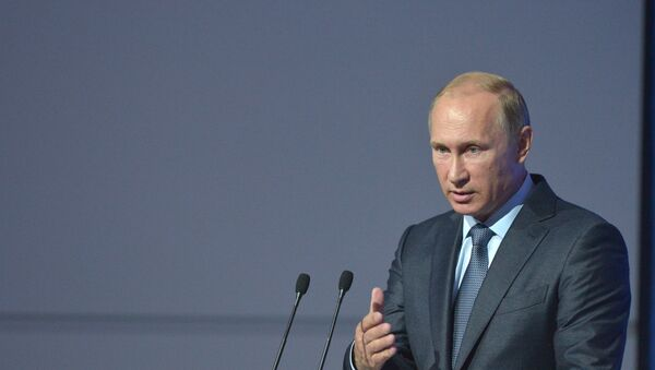 Le président russe Vladímir Poutine - Sputnik France