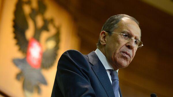 Russian Foreign Minister Sergei Lavrov - Sputnik France