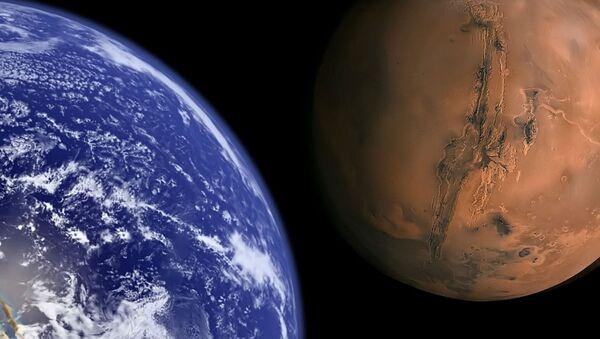 la Terre et Mars - Sputnik France