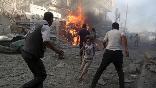 Bombardements en Syrie - Sputnik France