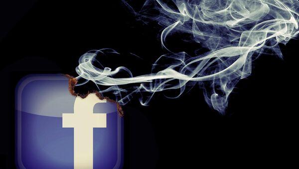Le réseau social Facebook - Sputnik France