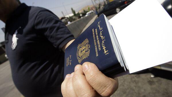 passeports syriens - Sputnik France