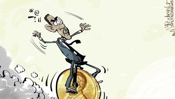 Obama Prix Nobel: attention à la chute! - Sputnik France