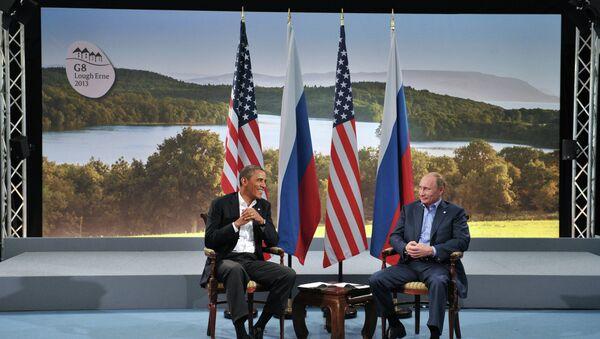 Vladimir Poutine et Barack Obmama - Sputnik France