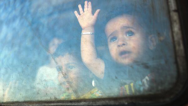 Un petit migrant - Sputnik France
