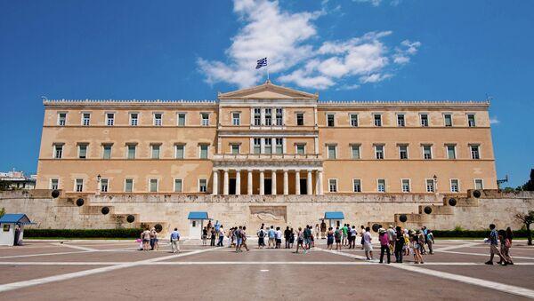 Greece parlament - Sputnik France