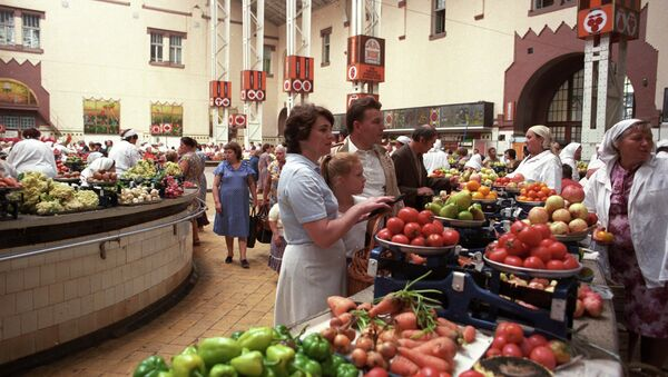 Un marché de Kiev (archives) - Sputnik France