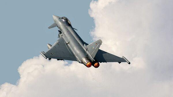 Un Eurofighter Typhoon S allemand - Sputnik France