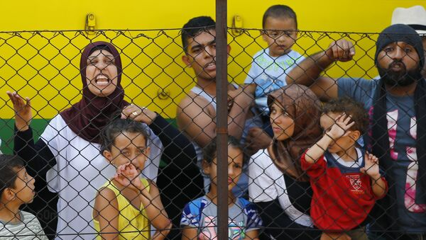 Migrants, Hongrie - Sputnik France