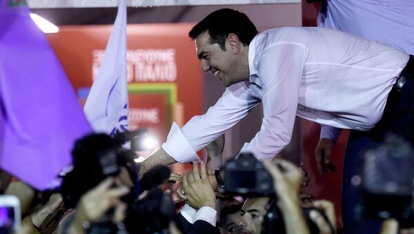 Le parti de l'ex-premier ministre Alexis Tsipras est arrivé en tête des élections anticipées - Sputnik France