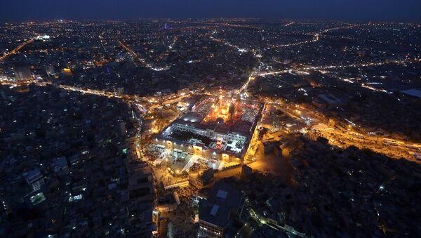 Вид на ночной Багдад - Sputnik France