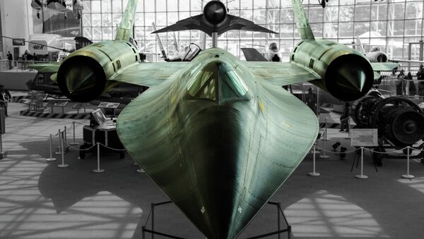 SR-71 Blackbird - Sputnik France