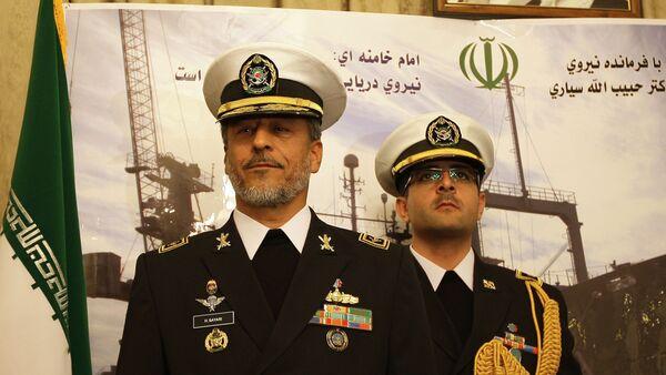 L'amiral Habibollah Sayyari (à gauche) - Sputnik France