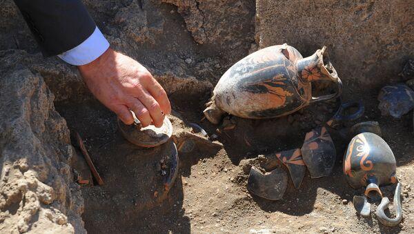 Une sépulture vielle de 2.500 ans découverte à Pompéi - Sputnik France