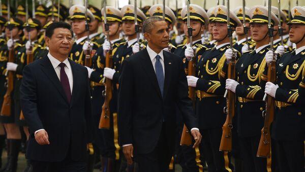 Barack Obama et Xi Jinping. Archive photo - Sputnik France