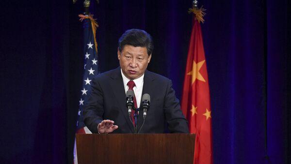 Xi Jinping aux Etats-Unis, Septembre 22, 2015 - Sputnik France