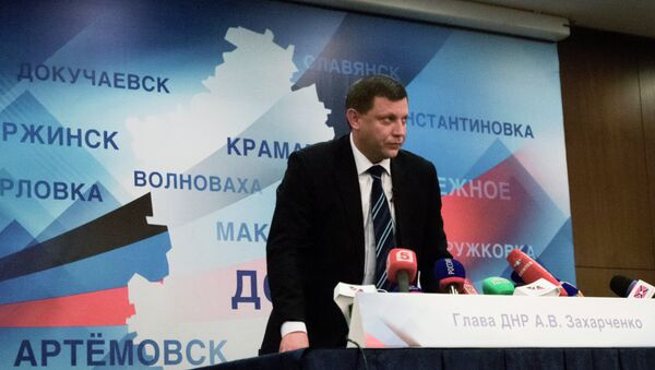 Alexandre Zakhartchenko, président de la République populaire de Donetsk (DNR) - Sputnik France