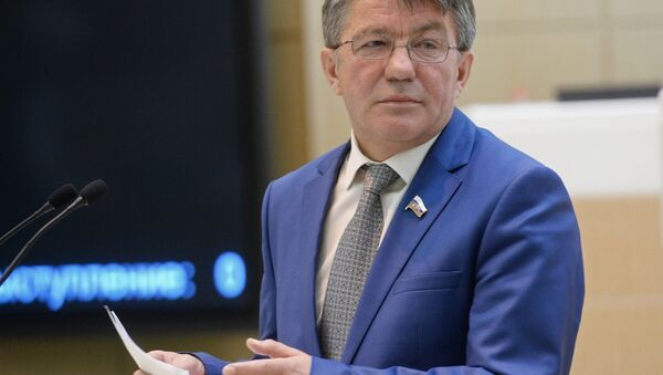 Viktor Ozerov, président de la Commission de la défense et la sécurité du Conseil de la Fédération (sénat russe) - Sputnik France