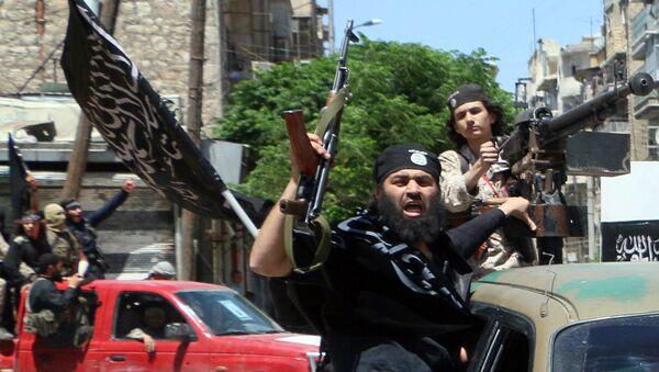 Combattants du Front al-Nosra, branche syrienne d'Al-Qaïda - Sputnik France