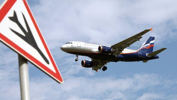 An Airbus A319 passenger aircraft of the Aeroflot company. - Sputnik France