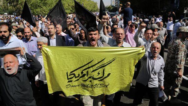 manifestations anti-saoudiennes à Téhéran - Sputnik France