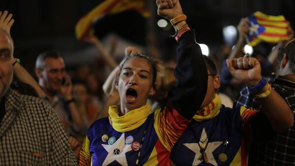 Les indépendantistes à Barcelone - Sputnik France