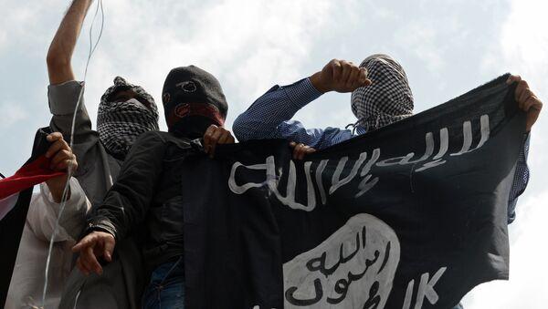 Le groupe terroriste Etat islamique - Sputnik France