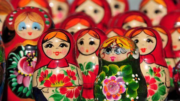 Les Matriochkas, poupées russes - Sputnik France