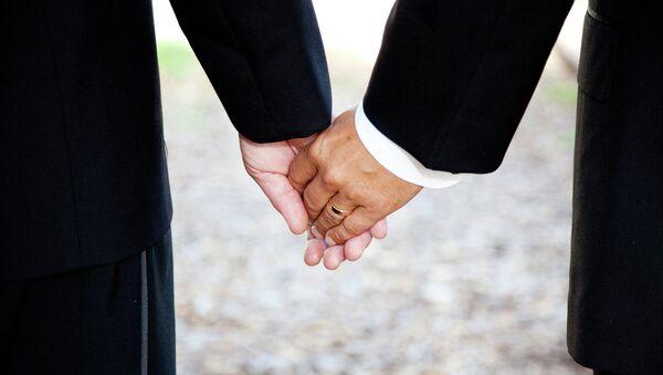 Un couple gay - Sputnik France