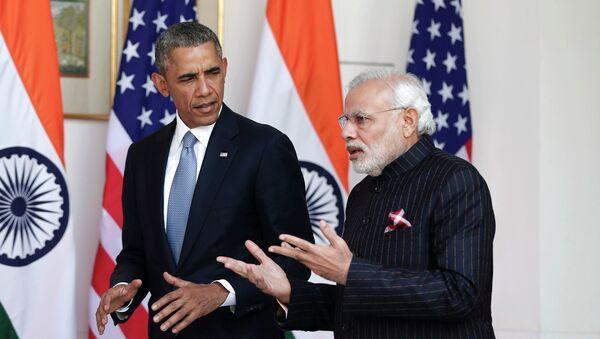Barack Obama et Narendra Modi - Sputnik France