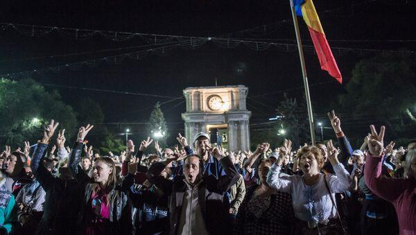Manifestation de protestation à Chisinau - Sputnik France