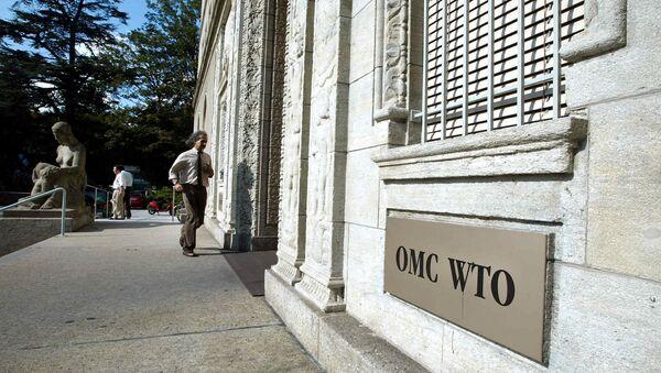 Le siège de l'Organisation mondiale du commerce (OMC) à Genève - Sputnik France