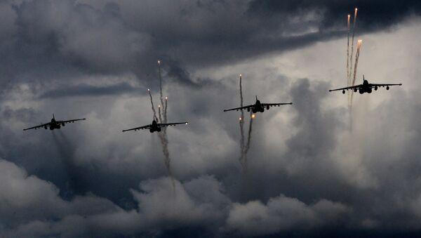 Russian Air Force. Sukhoy 25 - Sputnik France