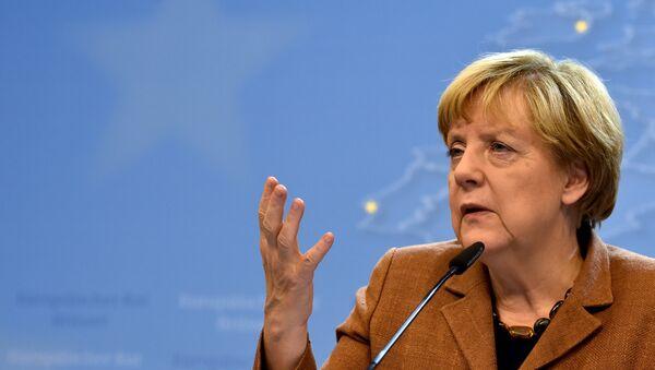 Merkel: pas de solution en Syrie sans l'aide de Moscou - Sputnik France